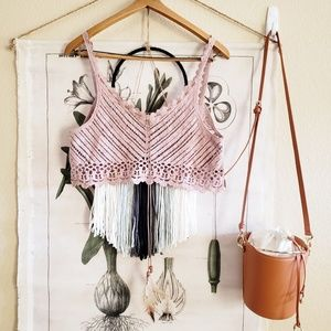 POL Crochet Top